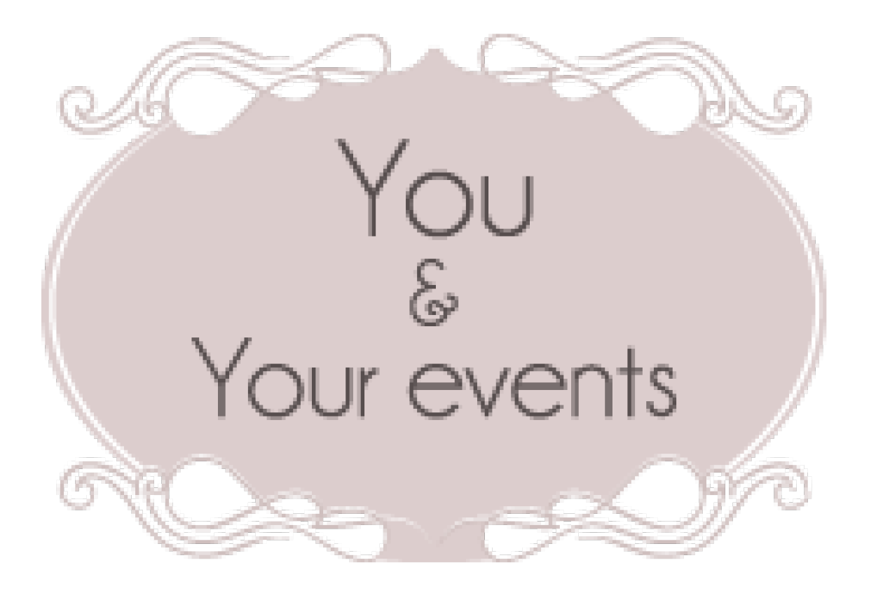 logo you and your event